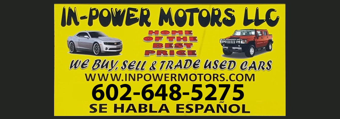 Used Cars Phoenix >> Used Car Dealership In Phoenix No Credit In Power Motors Llc