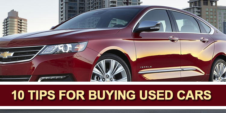 10 Tips For Buying Used Cars