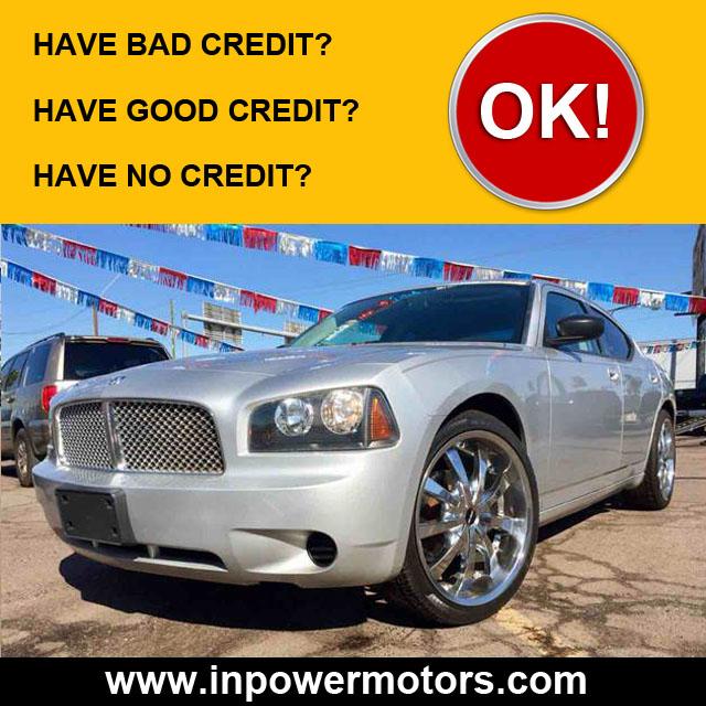 Bad Credit No Credit Car Dealership Phoenix
